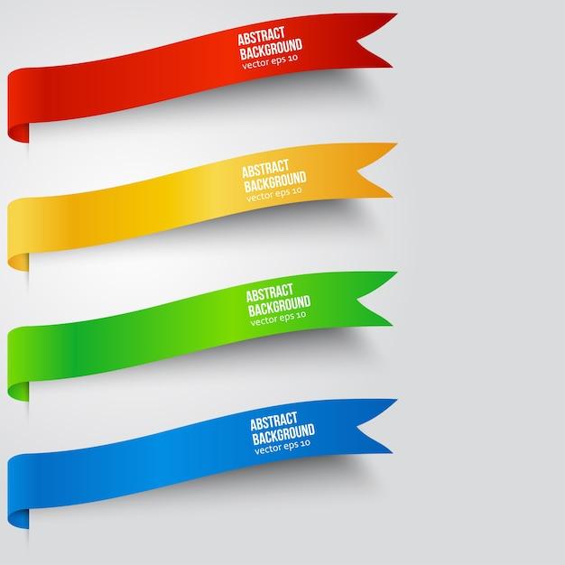 Wektor abstrakcyjna tła. kolor etykiety Darmowych Wektorów