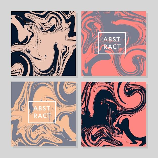 Wektor atrament tekstura akwarela ręcznie rysowane marmurki ilustracja, streszczenie tło, aqua wydruku Premium Wektorów