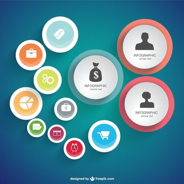 Wektor Bezpłatny Projekt Infografiki Darmowych Wektorów