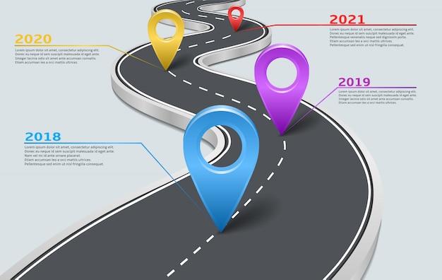 Wektor infographic linii drogowej samochód ze wskaźnikami Premium Wektorów