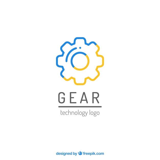 Wektor Logo Grafika Biegów Darmowych Wektorów