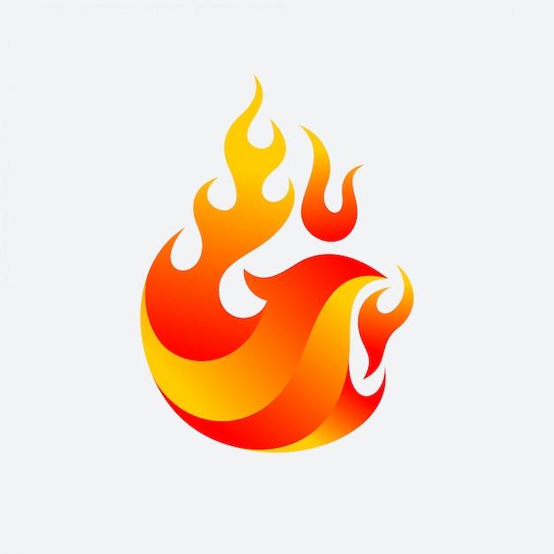 Wektor Ognia Phoenix Premium Wektorów