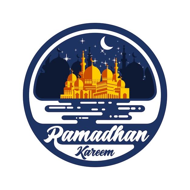 Wektor Ramadhan Kareem Premium Wektorów