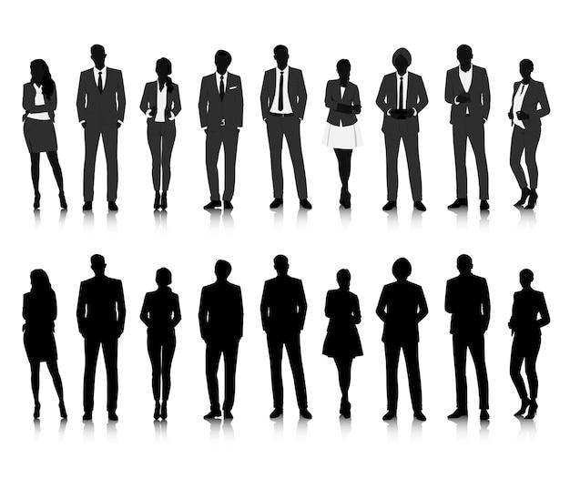 Wektor ui ilustracja koncepcja ludzie biznesu Darmowych Wektorów