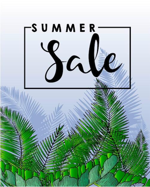 Wektorowa Ulotka Lato Sprzedaż Premium Wektorów