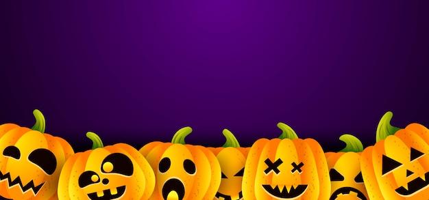 Wektorowy ilustracyjny tło halloween Premium Wektorów