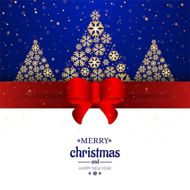 Wesołych Kartki świąteczne Tło Dekoracyjne Darmowych Wektorów