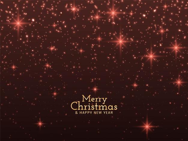 Wesołych świąt Błyszczy Tło Darmowych Wektorów