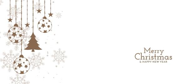 Wesołych świąt Bożego Narodzenia Projekt Obchodów Festiwalu Darmowych Wektorów