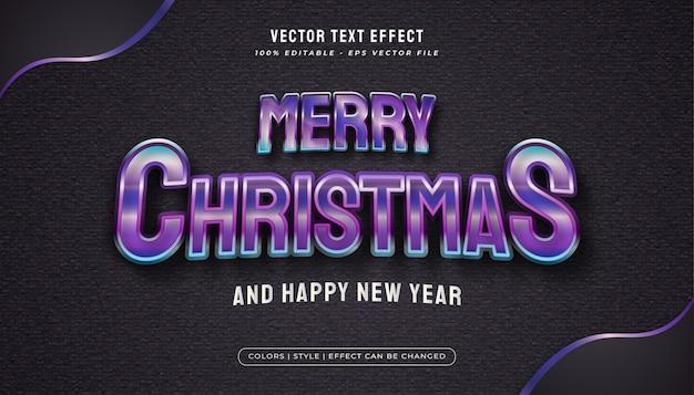 Wesołych świąt Bożego Narodzenia Tekst Z Kolorowym I Błyszczącym Stylem W Realistycznej Koncepcji Premium Wektorów