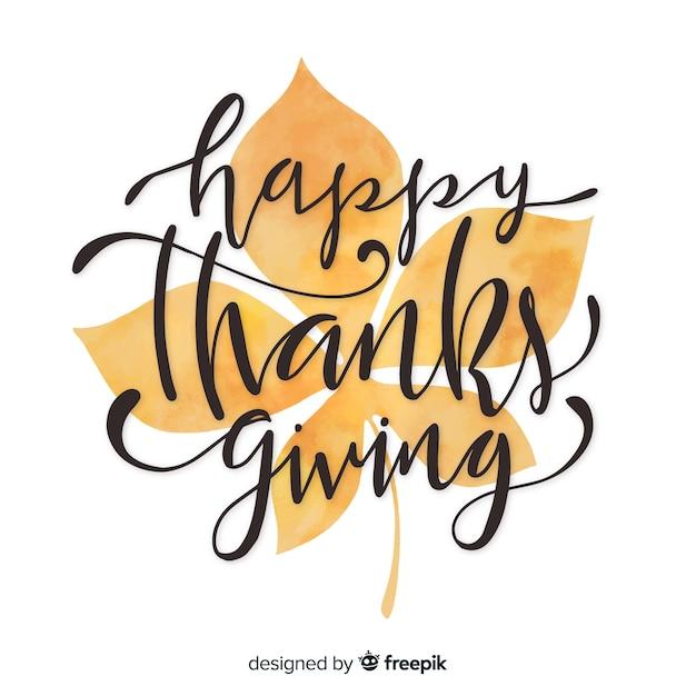 Wesołych świąt dziękczynienia Darmowych Wektorów