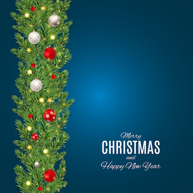 Wesołych świąt i szczęśliwego nowego roku plakatów. eps10 Premium Wektorów