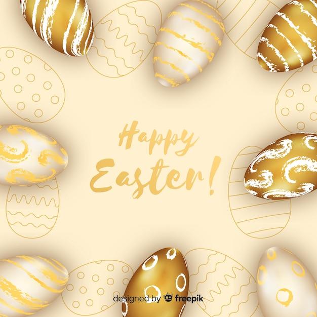 Wesołych świąt Wielkanocnych Darmowych Wektorów