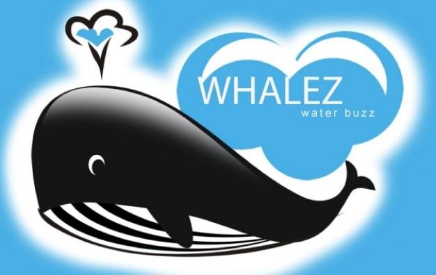Wieloryby logo Darmowych Wektorów