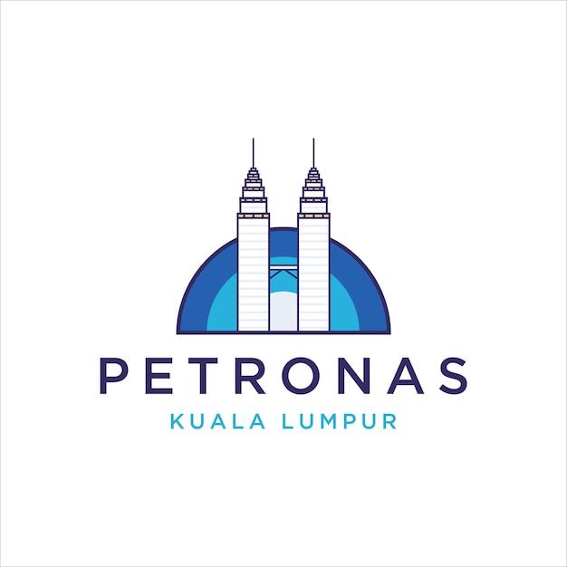 Wieża Petronas Premium Wektorów