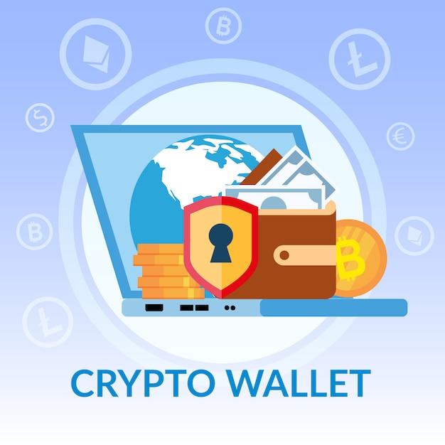 Wirtualny Portfel Kryptograficzny Darmowych Wektorów