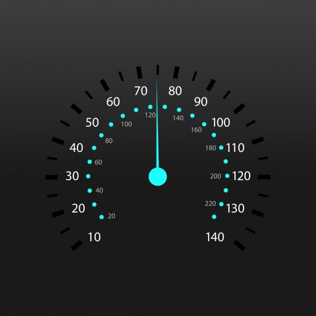 Wskaźnik Paliwa Ilustracji Wektorowych Prędkościomierza Darmowych Wektorów