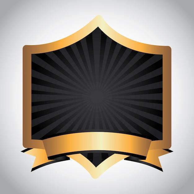 Wstążka z nagrodą Darmowych Wektorów
