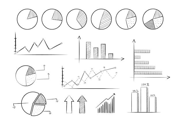Wyciągnąć Rękę Element Kolekcji Infographic Darmowych Wektorów