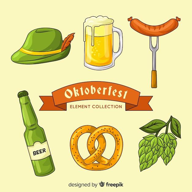 Wyciągnąć Rękę Element Kolekcji Oktoberfest Darmowych Wektorów