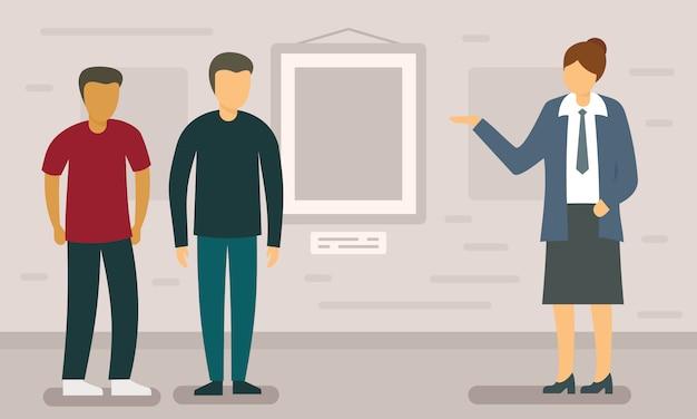 Wycieczka Koncepcja Transparent Podróży Premium Wektorów