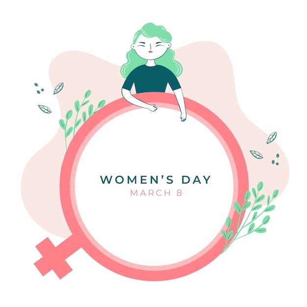 Wydarzenie Z Okazji Dnia Kobiet Darmowych Wektorów