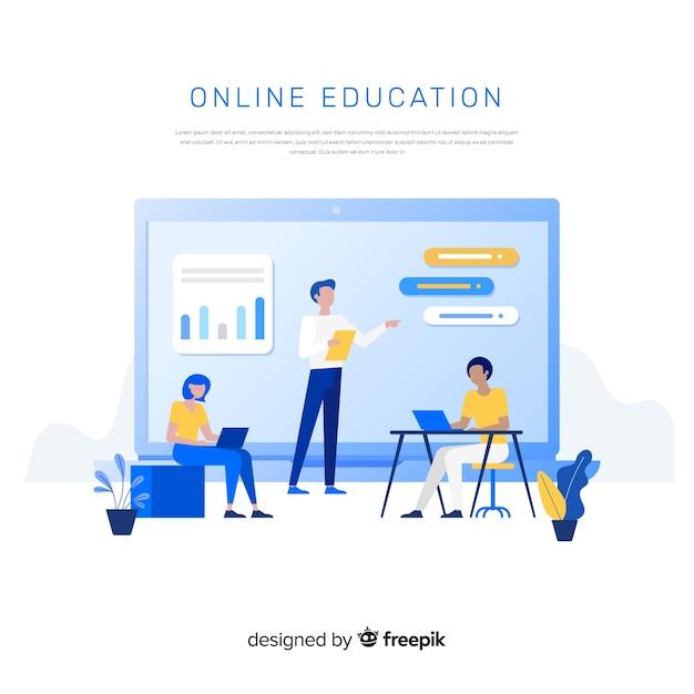 Wykształcenie Online Darmowych Wektorów