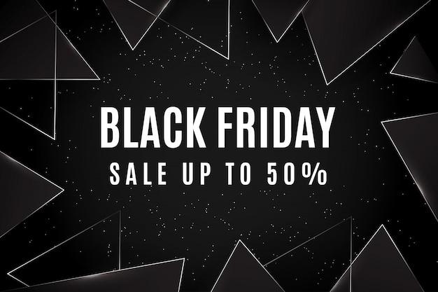 Wyprzedaż W Czarny Piątek Do 50% Trójkątów Premium Wektorów