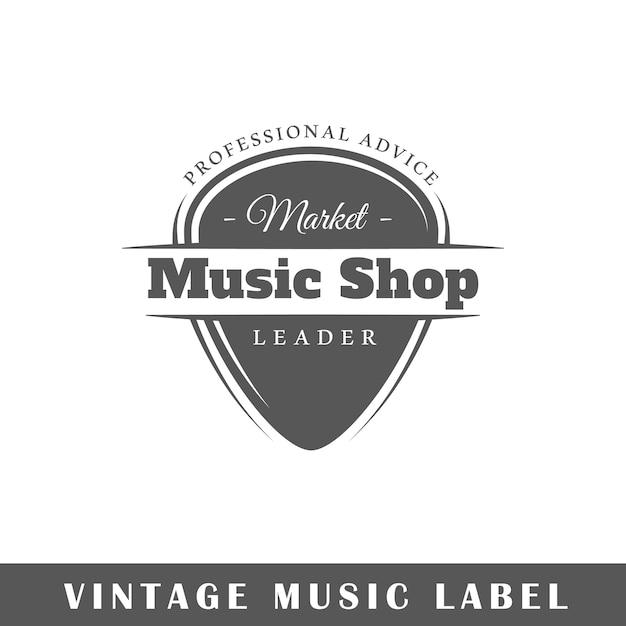 Wytwórnia Muzyczna Na Białym Tle. Premium Wektorów