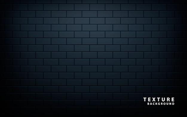 Wzór czarnej ściany Premium Wektorów