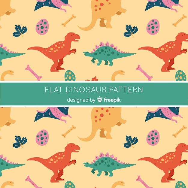 Wzór Dinozaura Darmowych Wektorów