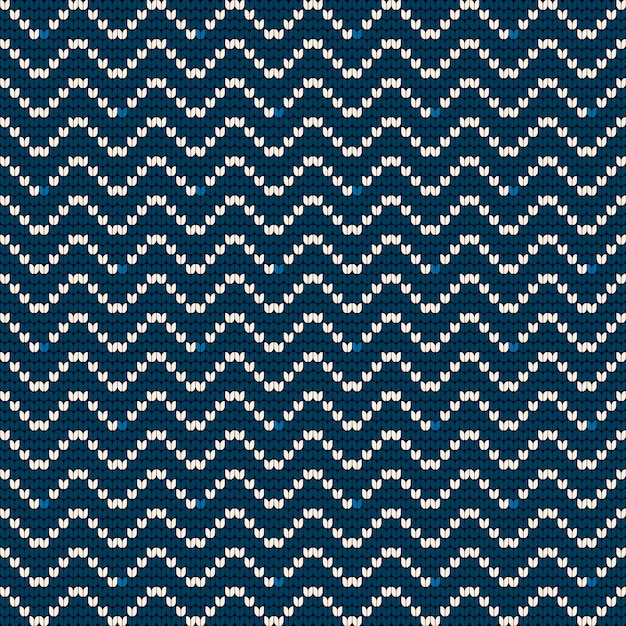 Wzór dziania babci dla brzydkiego swetra Premium Wektorów