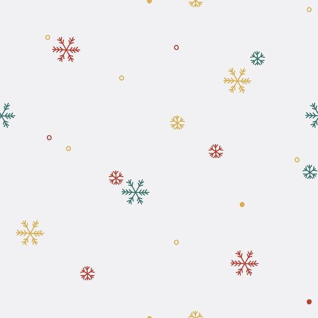 Wzór Kolorowy śnieżynka Darmowych Wektorów