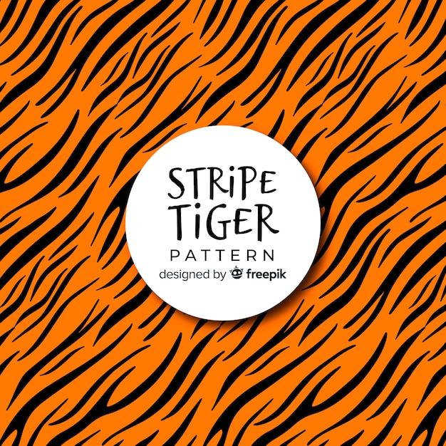 Wzór paski tygrysa Darmowych Wektorów