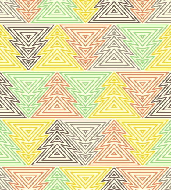 Wzór z abstrakcyjnych kształtów Premium Wektorów