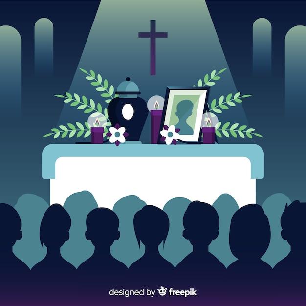 Zakład Pogrzebowy Darmowych Wektorów