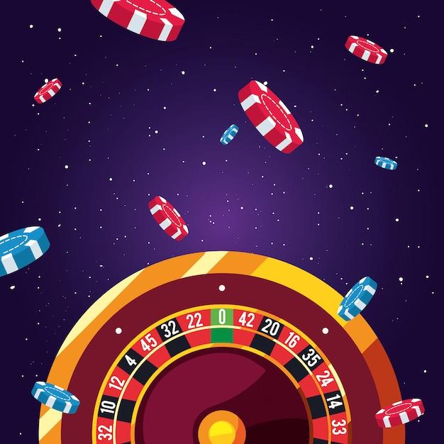 Zakłady na gry kasynowe Premium Wektorów