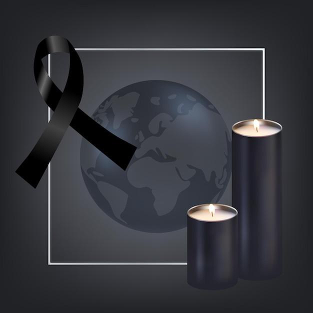 Żałoba Za Koncepcję Ofiar Darmowych Wektorów