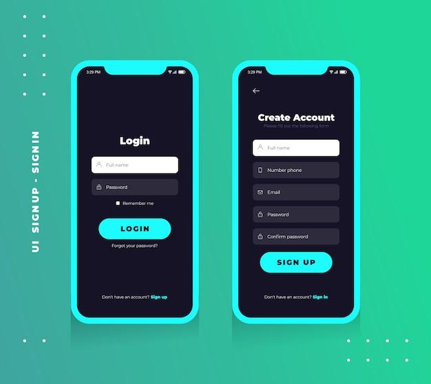 Zaloguj Się Użytkownik Premium Wektorów