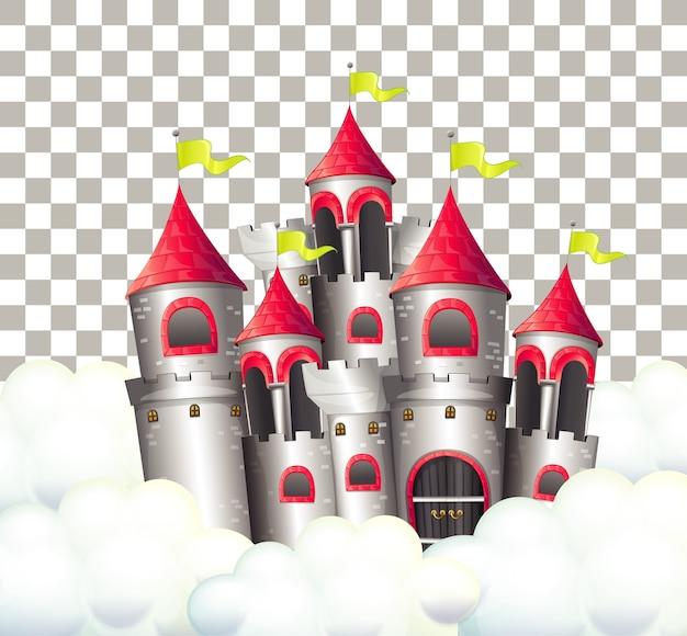 Zamek W Bajce Na Przezroczystym Tle Darmowych Wektorów
