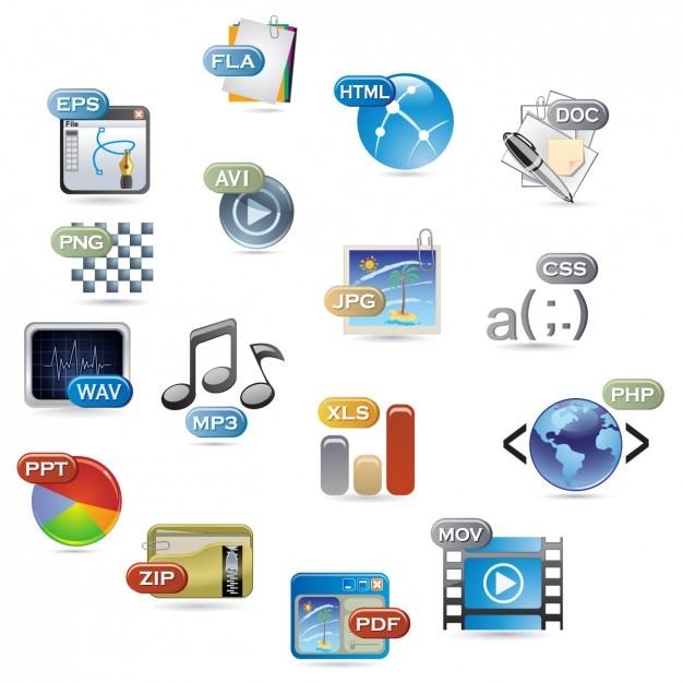 Zapisz Zbiór Formatów Plików Darmowych Wektorów