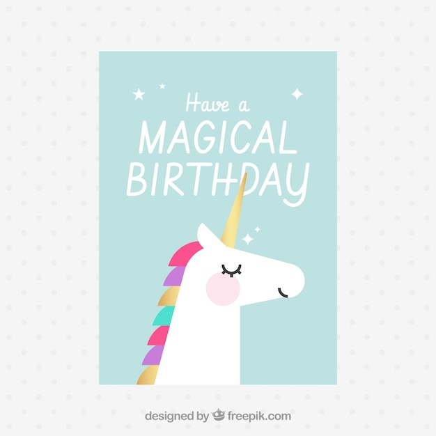 Zaproszenie Na Magiczne Urodziny Wektor Darmowe Pobieranie
