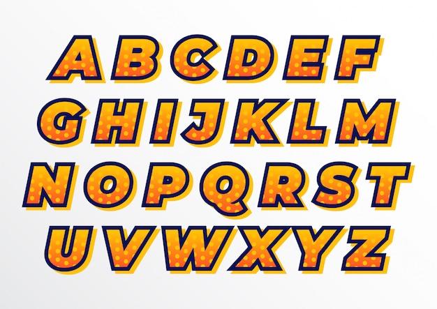 Zdobiony zestaw alfabetów dla sportowców Premium Wektorów