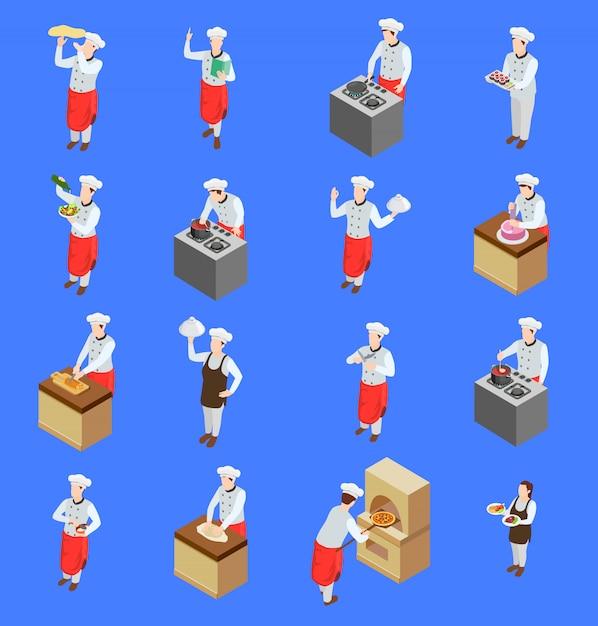 Zestaw ikon znaków gotować Darmowych Wektorów