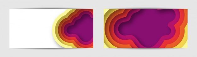 Zestaw Kolorowe Tło Gradientowe Transparent Premium Wektorów