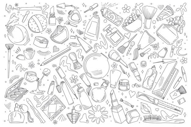 Zestaw Kosmetyków Kosmetyki Premium Wektorów