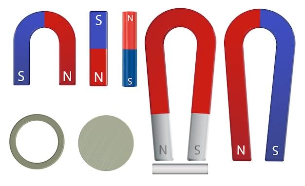Zestaw magnesów Darmowych Wektorów