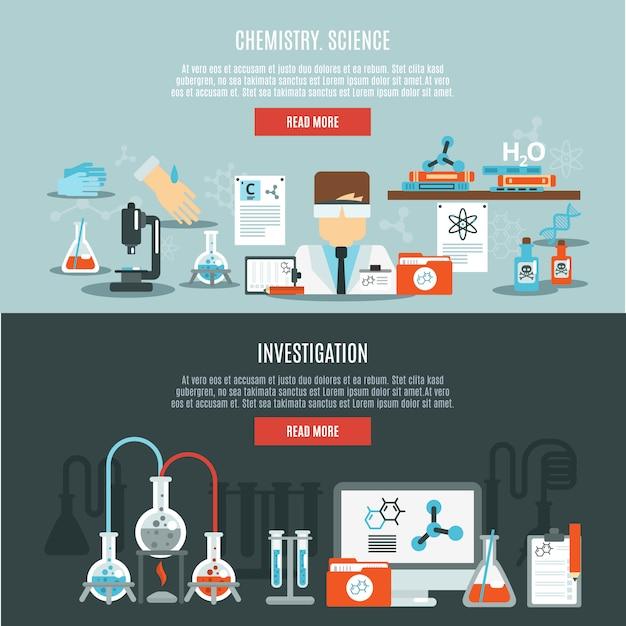 Zestaw transparent chemii Darmowych Wektorów