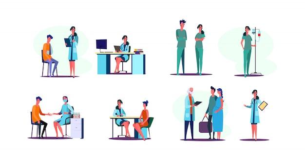 Zestaw Zawodów Medycznych Darmowych Wektorów