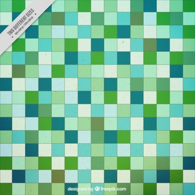 Zielone Kwadraty W Tle Darmowych Wektorów